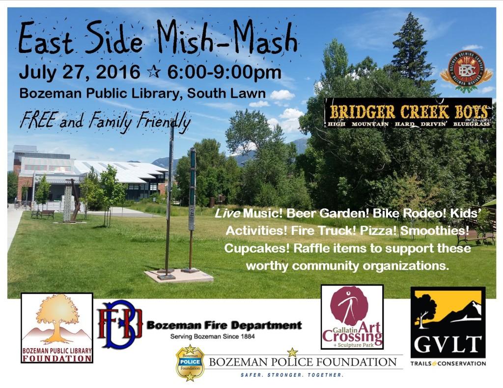 East Side Mish-Mash flyer