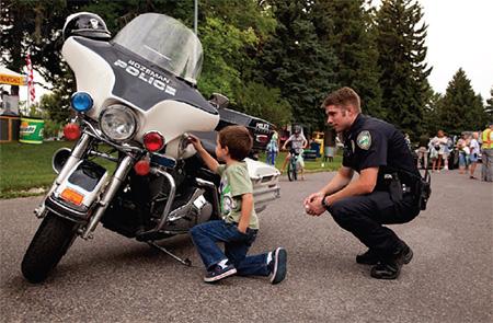 Bozeman Police Officer